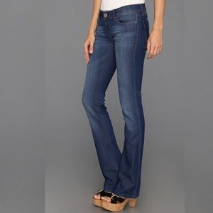DL1961 Women's Cindy Slim Bootcut Jeans Blue 25